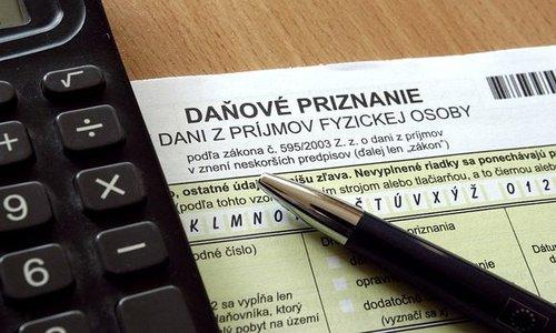 daňové priznanie