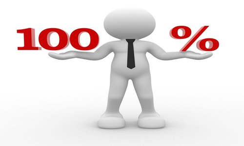 100 % hypotéku